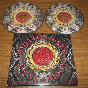 WHITESNAKE FLESH & BLOOD CD / DVD